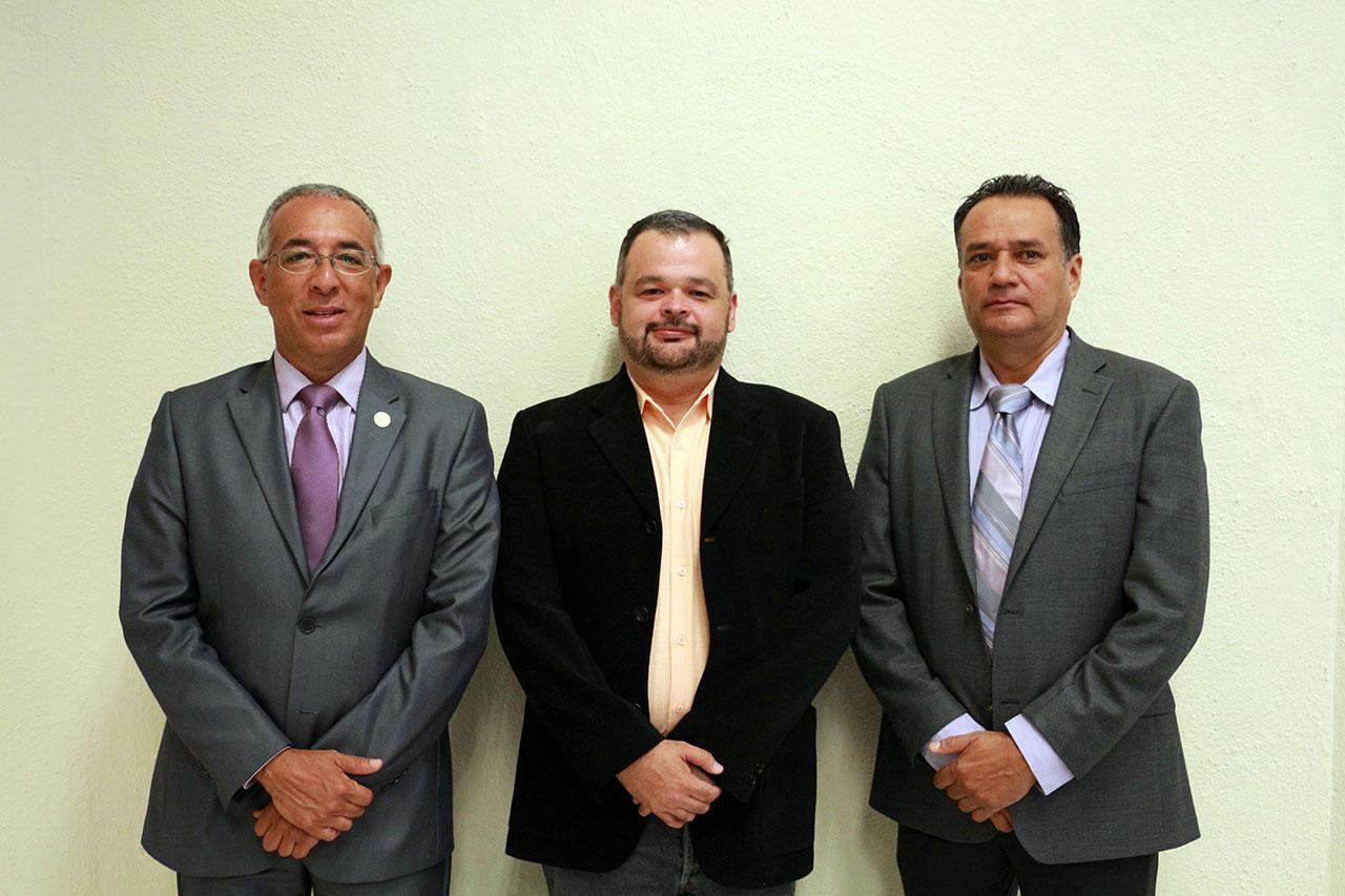 Ricardo Xicoténcatl García Cauzor, Alejandro Macías Macías y Gonzalo Rocha Chávez.