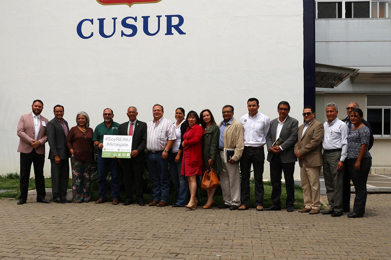 Participantes a la Red de Extensión e Innovación Nacional Universitaria (REINU)