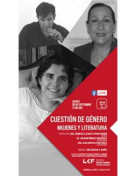 """Charla: Cuestión de Género: """"Mujeres y literatura"""""""