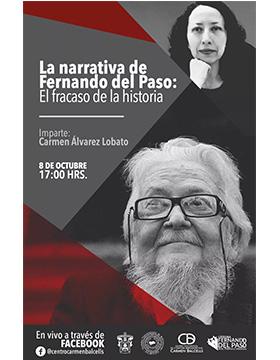 Charla virtual: La narrativa de Fernando del Paso: El fracaso de la historia