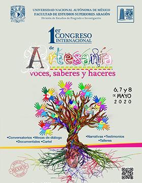 """1er Congreso Internacional de Artesanía """"Voces, saberes y haceres"""" a llevarse a cabo del 6 al 8 de mayo."""