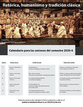 Seminario permanente. Retórica, humanismo y tradición clásica en Auditorio Adalberto Navarro, CUCSH.