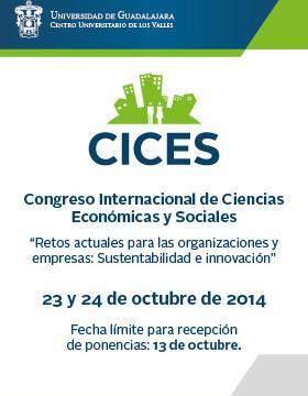 Cartel del 1er Congreso Internacional de Ciencias Económicas y Sociales