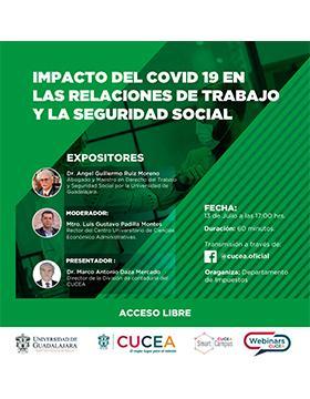 Webinar: Impacto del COVID-19 en las relaciones de trabajo y la seguridad social