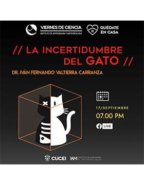 Conferencia: La incertidumbre del gato