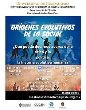 Conferencia: ¿Qué puede decirnos acerca de la ética y la política la historia evolutiva humana?