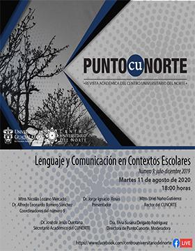 Presentación del número 9 de la revista académica Punto CUNorte
