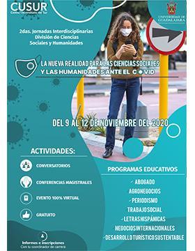 2das. Jornadas Interdisciplinarias de la División de Ciencias Sociales y Humanidades