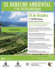 Información del evento y fotografía de un paisaje natural