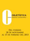 cartel del evento con juego de letras sobre fondo amarillo brillante