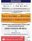 """Escuchatorio con jóvenes """"Democracia y justicia digital"""""""