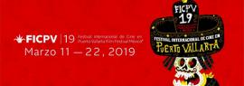 Cartel informativo sobre el 19° Festival Internacional de Cine en Puerto Vallarta Film Festival México. A realizarse del 11 al 22 de marzo.
