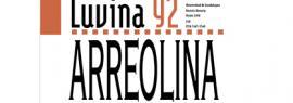 "Cartel informativo sobre la Revista literaria: Luvina 92 ""Arreolina"""