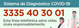 Telefono para solicitar un diagnostico 33 3540 3001