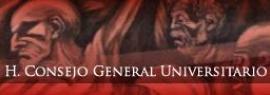 Sitio web del Consejo General Universitario máximo órgano de la Universidad de Guadalajara