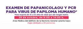 Examen de Papanicolaou y PCR para Virus de Papiloma Humano