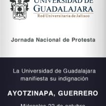 Jornada Nacional de Protesta por los hechos de  Iguala, Guerrero.