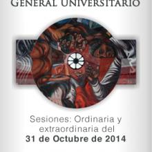 Sesiones Extraordinaria y Ordinaria del Consejo General Universitario