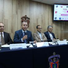 Rueda de prensa para Anunciar el Vigésimo Tercer Congreso Internacional de Cirugía Taurina