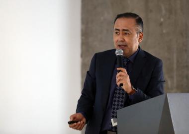El doctor Jaime Federico Andrade Villanueva, director general del Hospital Civil de Guadalajara (HCG)