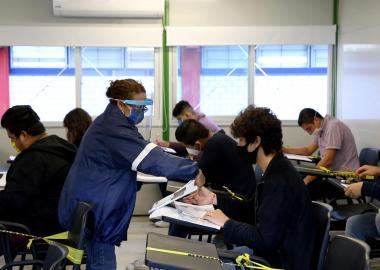 Este martes fueron realizadas las pruebas para ingreso al ciclo 2020-B en CUAAD, CUAltos, CUCEI, CUCosta y CUSur