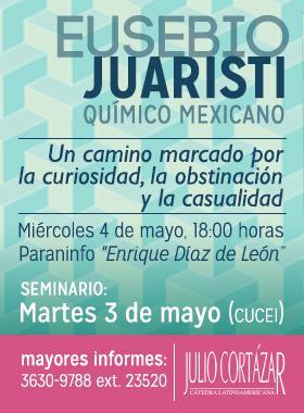Con el quimico mexicano Eusebio Juaristi
