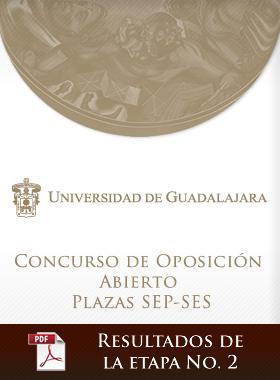 Concurso de Oposición Abierto Plazas SEP-SES - Resultados de la Etapa Número 2