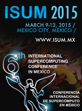 Enlace al sitio web de la  Conferencia Internacional de Supercomputo en Mexico ISUM 2015