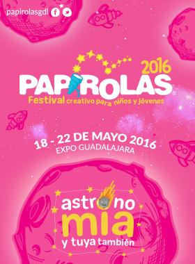 Ver fecha de festival creativo para niños y jovenes papirolas