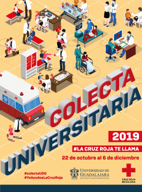 Colecta Universitaria 2019 de la Cruz Roja Mexicana