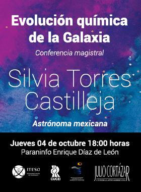 Cartel informativo sobre la Cátedra Latinoamericana Julio Cortázar