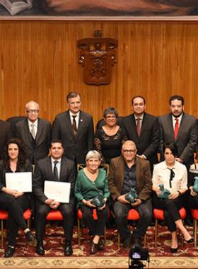 Ganadores del Premio nacional de periodismo