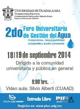2do Foro Universitario de Gestión de Agua
