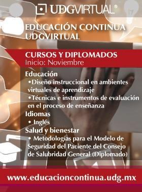 Cursos de Educación Continua de la UDG-Virtual