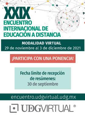 XXIX Encuentro Internacional de Educación a Distancia