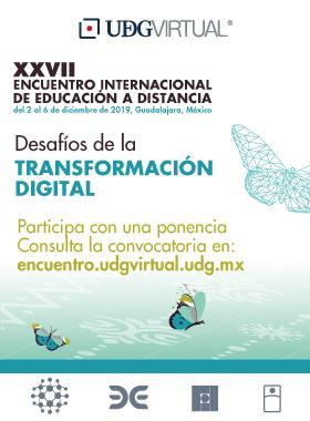 Convocatoria de ponencias para el XVII Encuentro Internacional de Educación a Distancia.