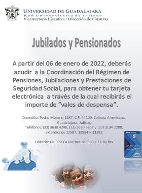 Tarjeta electrónica para vales de despensa para jubilados y pensionados