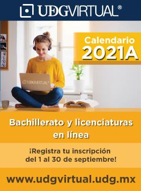 Calendario de trámites, ciclo 2021A de UDGVirtual