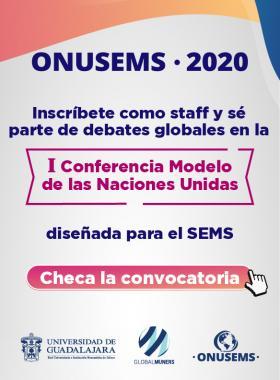 Convocatoria para estudiantes de preparatoria para participar en ONUSEMS