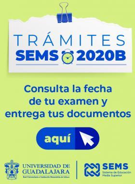 Trámites SEMS 2020B