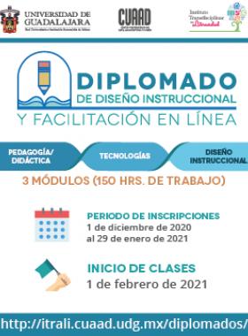 Diplomado de Diseño Instruccional y Facilitación en Línea