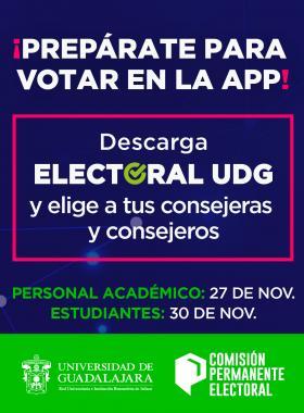 ¡Prepárate para votar en la app!