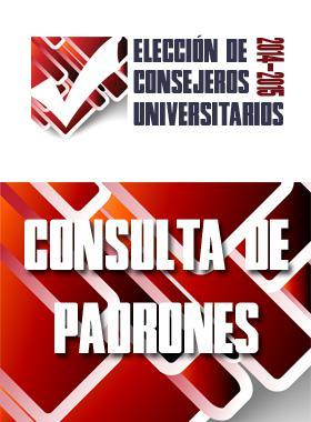 2014-2015 Elección de Consejeros Universitarios
