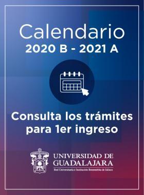 Calendario de trámites 2020B - 2021A