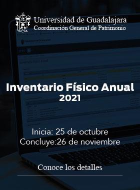 Inventario Físico Anual 2021