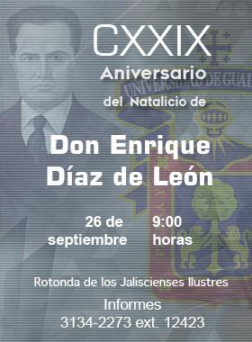 Aniversario Enrique Díaz de León