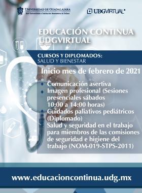 Educación Continua UDG-Virtual. Enero 2021.