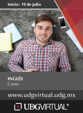 Cartel informativo sobre el curso de Inglés