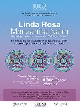"""Linda Rosa Manzanilla en la Cátedra Latinoamericana """"Julio Cortázar"""""""