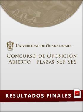 Concurso de oposición abierto de plazas SEP y SES